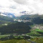 vista su St.Moritz
