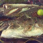 Whole sea bass for 39RM (nearly 10€)