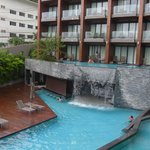 One of a swimming pool @Hill side