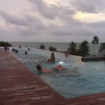 Rooftop pool @Hill side
