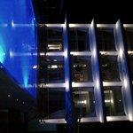 L'hotel visto di notte - una meraviglia