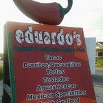 Eduardos Taco Stand sign