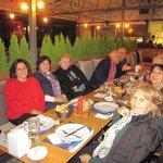 Net Teras Keyifli Bir Akşam  Yemeği