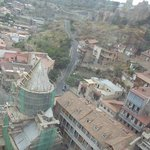 Old Tbilisi view from Cable Car