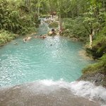 Blue Hole - One of the ponds