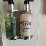 Lovely 'The Tub' toiletries