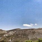 Vista sul Gran Cratere, Isola di Vulcano