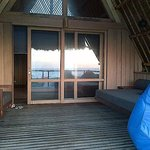 The veranda of the beruga