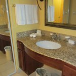 sink separate from bathroom and shower
