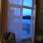 panoramique de la chambre