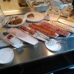 Buffet frio del desayudo