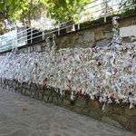muro dei voti dei fedeli