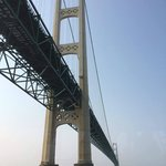 Mackinac Bridge as seen from the Star Line