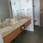 sinkk separate from toilet