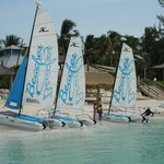 Hobie Cats free to use all day.