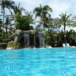 piscine en haut