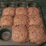 Cranberry orange muffins.