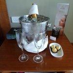 Honeymoon Champagne :)