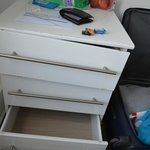 Furniture in poor condition