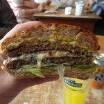 Double Blues Burger