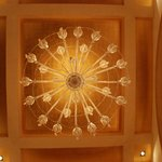 Ceiling in the Hotel Lobby
