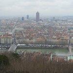 Vistas de Lyon desde la parte alta