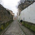 Calle en pendiente
