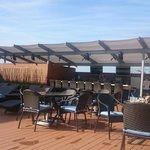 New refurbished pool bar