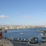 Вид на Пафос с крепости
