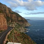 Chapmans Peak Drive after Cape Point