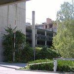 Parkhaus vom Hotel