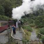 steaming off