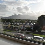 the view from our room of the Kerry Mountains
