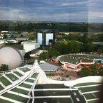 Vue du parc depuis la tour panoramique