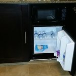 Cabinet door must remain open for refrigerator to operate efficiently