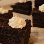 A Double Chocolate Cake Treat