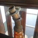 Candelabro de decoracion roto