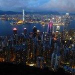 Baie de HK en face Kwoloon