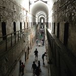 A view of a cell block from the gallery level.