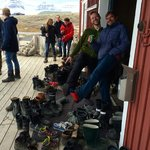 Mellageret Kafe - World Northernmost Bar - No shoes in !