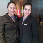 Rosa and Valeria at The JW Lima.  Thanks girls!