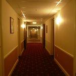 Corridor in the Leisure Centre