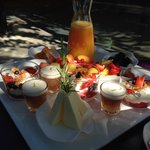 Breakfast at the Mas de l'Amarine
