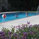 Ilex Lodge heated pool