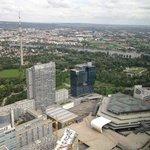 Ausblick von 57 Restaurant zum Donauturm