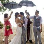 Ceremony on Beach