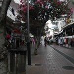Cala Millor shopping street