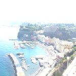 View of Sorrento from the terrace