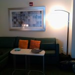Sitting area of room