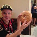 Huge doughnut for Brekkie